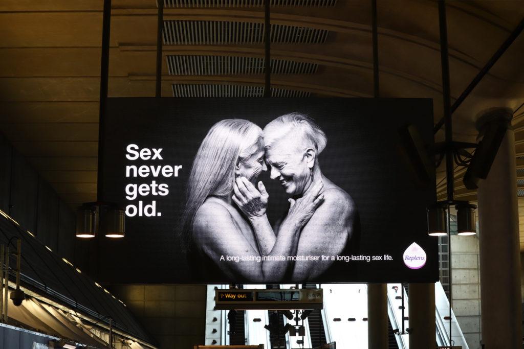 replens advertising in station