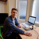 Portrait of Jack Oliver graduate technology engineer