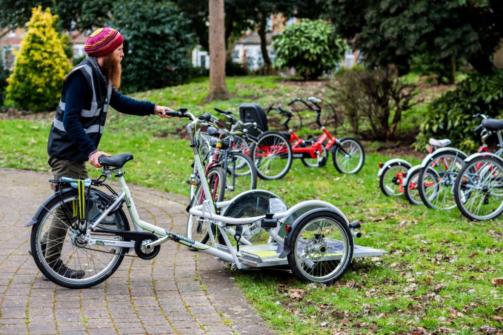 Adapted cycles in Inwood Park