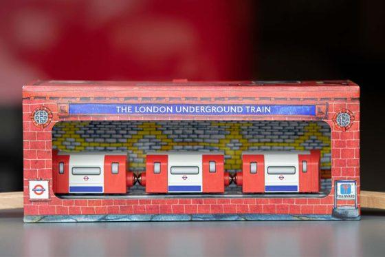 Trainyard's London Underground Train Set licensee product